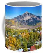 City Of Crested Butte Colorado Panorama   Coffee Mug by James BO  Insogna