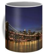 City Of Lights Coffee Mug by Evelina Kremsdorf