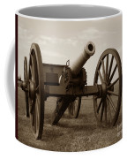 Civil War Cannon Coffee Mug by Olivier Le Queinec