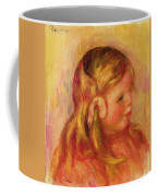 Claude Renoir Coffee Mug by Pierre Auguste Renoir