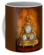 Clockmaker - Anyone Have The Time Coffee Mug by Mike Savad