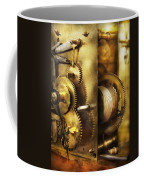Clockmaker - We All Mesh Coffee Mug by Mike Savad