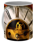 Clockmaker - What Time Is It Coffee Mug by Mike Savad