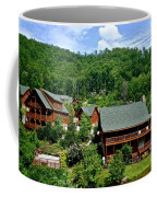 Cluster Cottages Coffee Mug by Frozen in Time Fine Art Photography