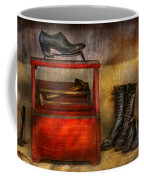 Cobbler - Life Of The Cobbler Coffee Mug by Mike Savad