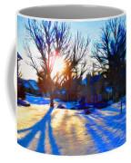 Cold Morning Sun Coffee Mug by Jeff Kolker