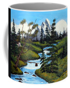 Cold Rattling Brook  Coffee Mug by Barbara Griffin