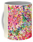 Colorful Abstract Circles Coffee Mug by Susan Leggett