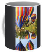 Colorful Balloons Fill The Frame Coffee Mug by Carol Groenen