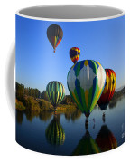 Colorful Landings Coffee Mug by Mike  Dawson