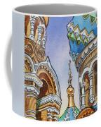 Colors Of Russia St Petersburg Cathedral II Coffee Mug by Irina Sztukowski