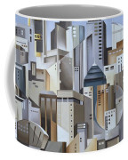 Composition Looking East Coffee Mug by Catherine Abel