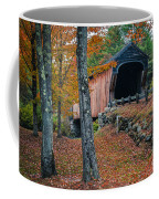 Corbin Covered Bridge Newport New Hampshire Coffee Mug by Edward Fielding