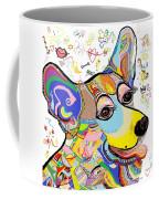 Corgi Cutie Coffee Mug by Eloise Schneider