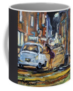 Corner Deal By Prankearts Coffee Mug by Richard T Pranke