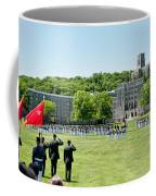 Corps Of Cadets Present Arms Coffee Mug by Dan McManus