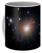 Cosmic Fireworks Coffee Mug by The  Vault - Jennifer Rondinelli Reilly