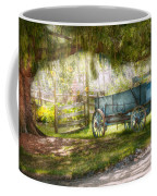 Country - The Old Wagon Out Back  Coffee Mug by Mike Savad