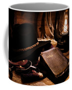 Cowboy Bible Coffee Mug by Olivier Le Queinec