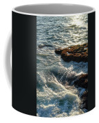 Crashing Waves Coffee Mug by Olivier Le Queinec