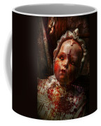 Creepy - Doll - It's Best To Let Them Sleep  Coffee Mug by Mike Savad
