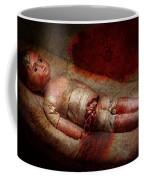 Creepy - Weird - No One Ever Suspected  Coffee Mug by Mike Savad
