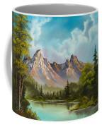 Crimson Mountains Coffee Mug by C Steele