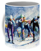 Cross-country Challenge Coffee Mug by Hanne Lore Koehler