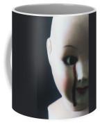 Crying Blood Coffee Mug by Joana Kruse