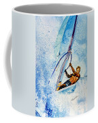 Cutting The Surf Coffee Mug by Hanne Lore Koehler