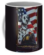 Dalmatian The Firefighters Mascot Coffee Mug by Paul Ward