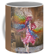 Dance Through The Color Of Life Coffee Mug by Karina Llergo