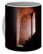Dark Brick Passageway Coffee Mug by Frank Romeo