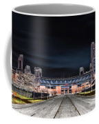 Dark Skies At Citizens Bank Park Coffee Mug by Bill Cannon