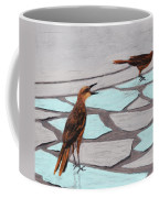 Death Valley Birds Coffee Mug by Anastasiya Malakhova