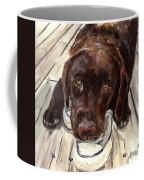 Deckhand Coffee Mug by Molly Poole