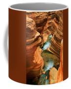 Deer Creek Slot Coffee Mug by Inge Johnsson