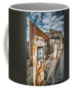 Derelict Gas Station Coffee Mug by Adrian Evans