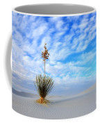 Desert Beauty White Sands New Mexico Coffee Mug by Bob Christopher
