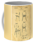 Designs For A Eames Chair Coffee Mug by Edward Fielding