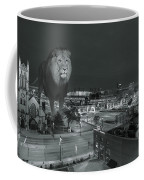 Detroit Lions Coffee Mug by Nicholas  Grunas
