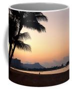 Diamond Head Sunrise - Honolulu Hawaii Coffee Mug by Brian Harig