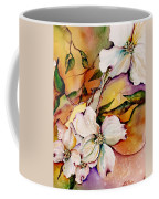 Dogwood In Spring Colors Coffee Mug by Lil Taylor