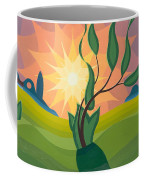 Early Morning Coffee Mug by Emil Parrag