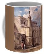 East Bergholt Church, Northside Coffee Mug by John Constable