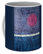 Eclipse Original Painting Coffee Mug by Sol Luckman