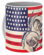Electoral Poster For The American Presidential Election Of 1900 Coffee Mug by American School