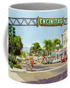 Encinitas California Coffee Mug by Mary Helmreich