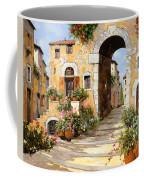 Entrata Al Borgo Coffee Mug by Guido Borelli