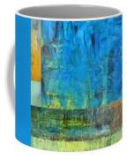 Essence Of Blue Coffee Mug by Michelle Calkins